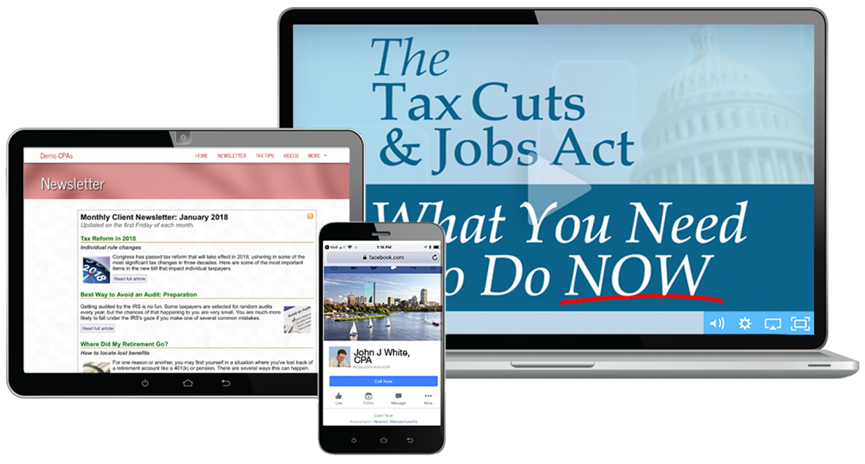 Tax Cuts & Jobs Act on devices
