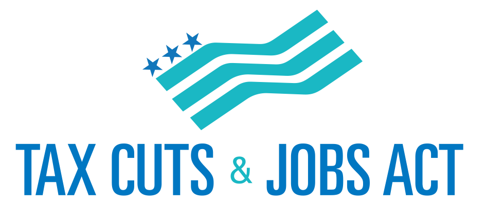 Tax Cuts & Jobs Act logo and text